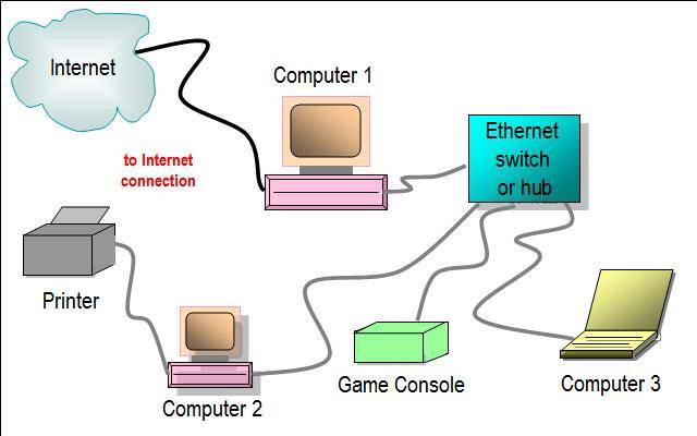 ethernet vs internet what s the difference echo brown medium. Black Bedroom Furniture Sets. Home Design Ideas