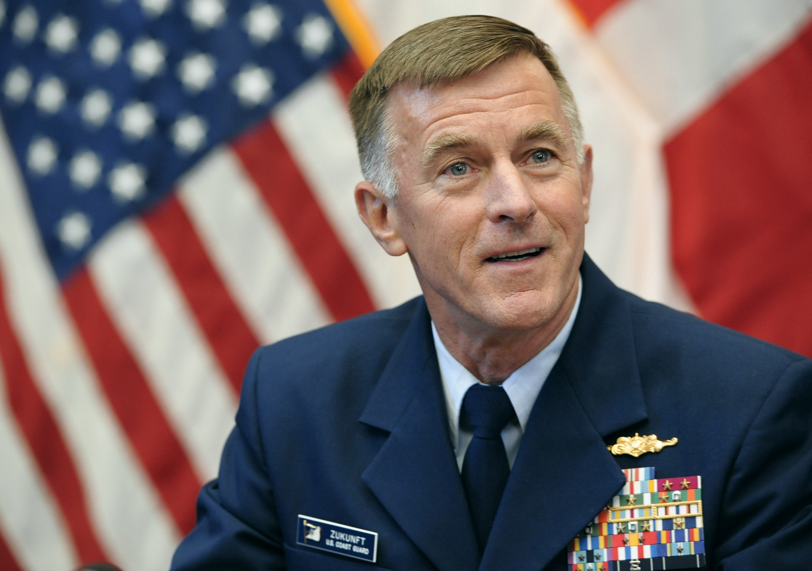 Shot fired: Coast Guard Commandant 'will not break faith' with trans members