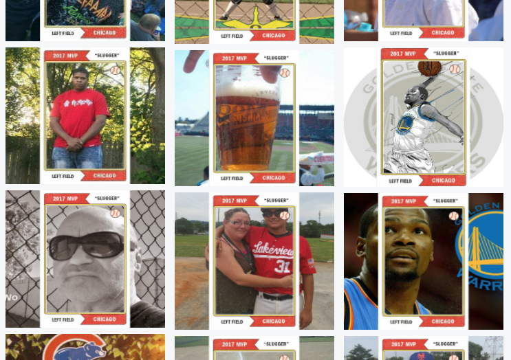 Creating All-Star Baseball Card Frames in Facebook Frame Studio