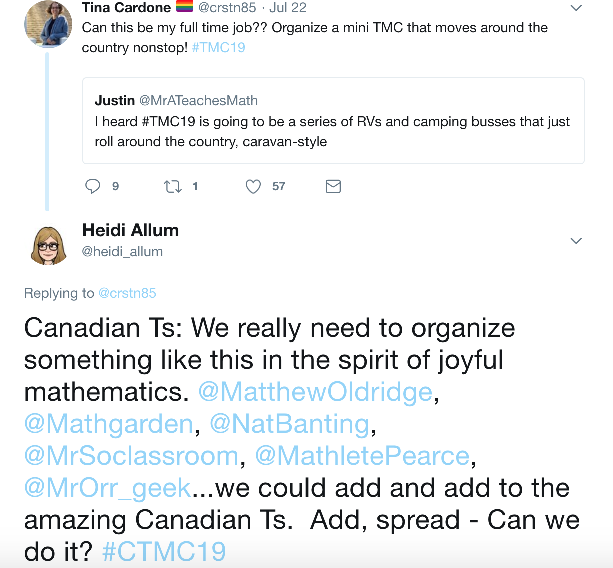 b78c29c2e Now a Canadian Twitter Math Camp is going on. Well, I threw the idea out  there, and was not really prepared for the response.