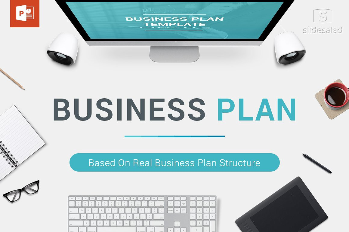 Best Business Plan Templates For Startup Funding Pitch Deck - Best business plan template