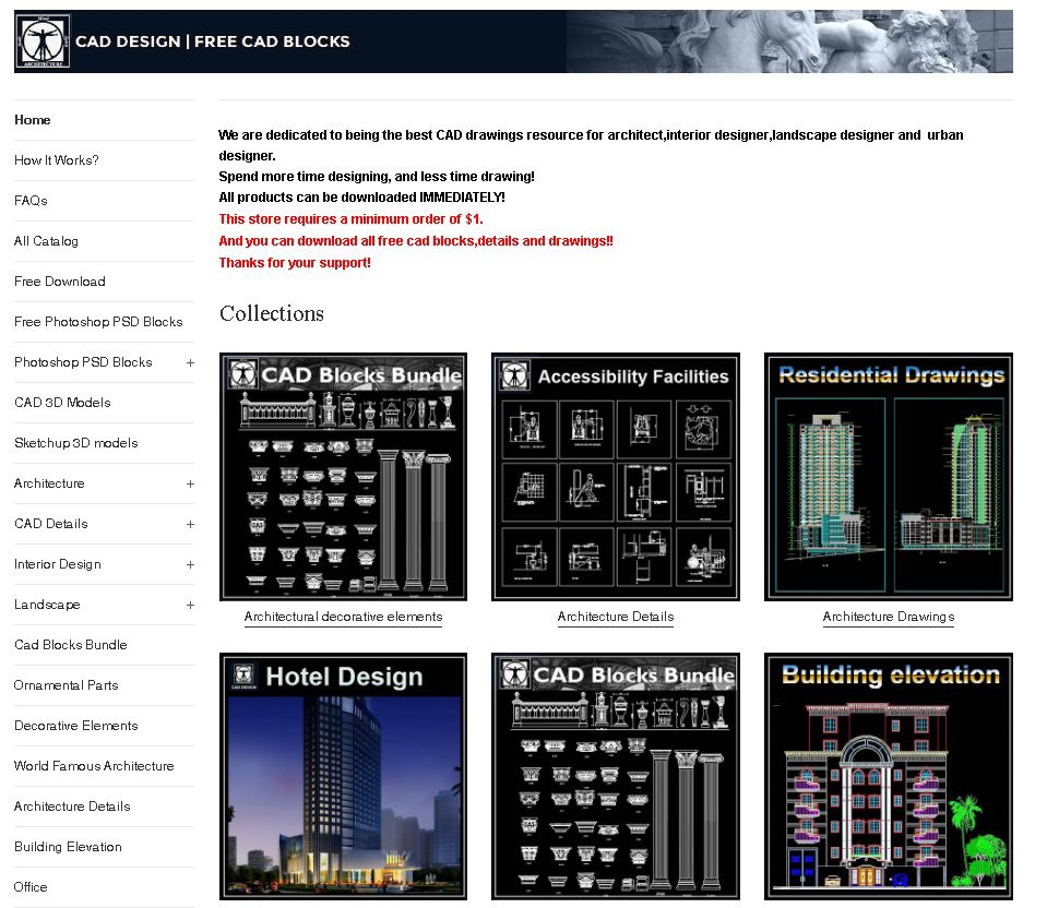 Free Cad Blocks: Free CAD Blocks,Drawings,Details – CAD Design