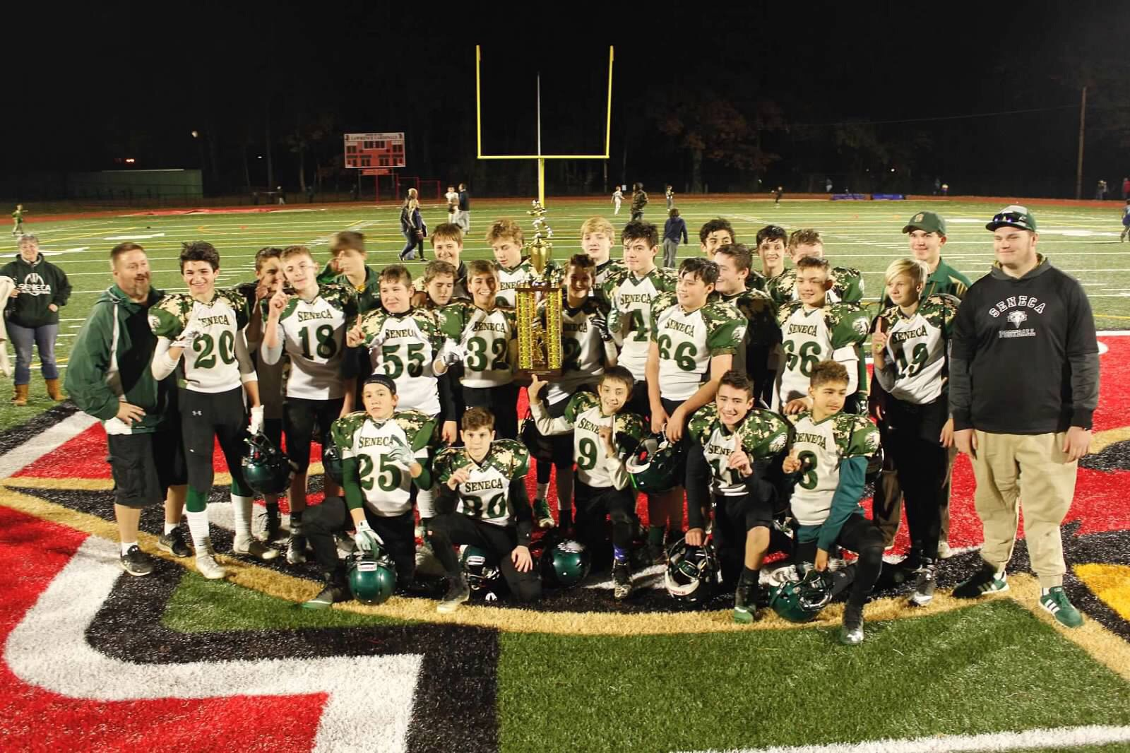 Pee wee football champs