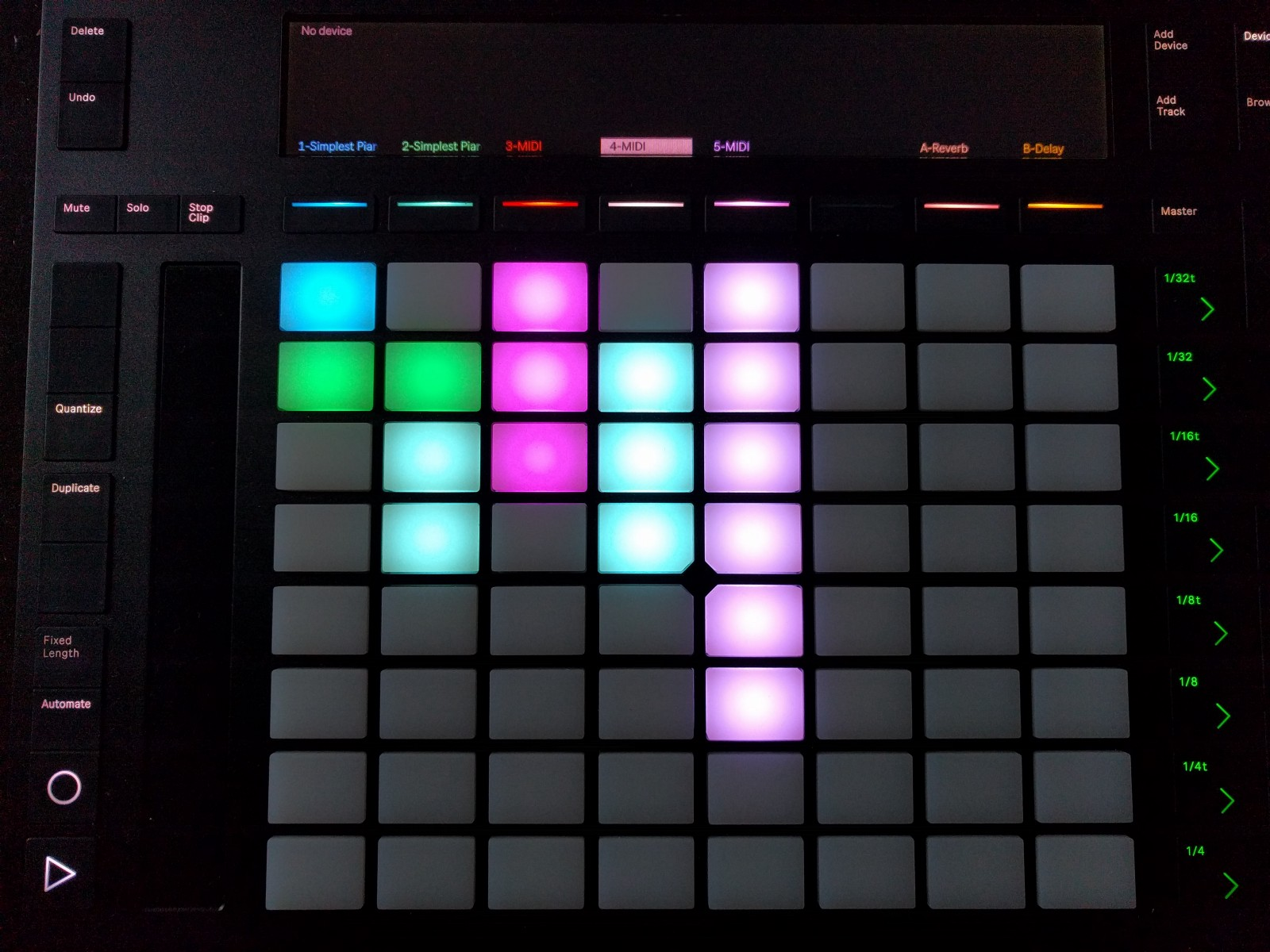 Ableton Push 2 As An Instrument Samuel Leeuwenburg Medium