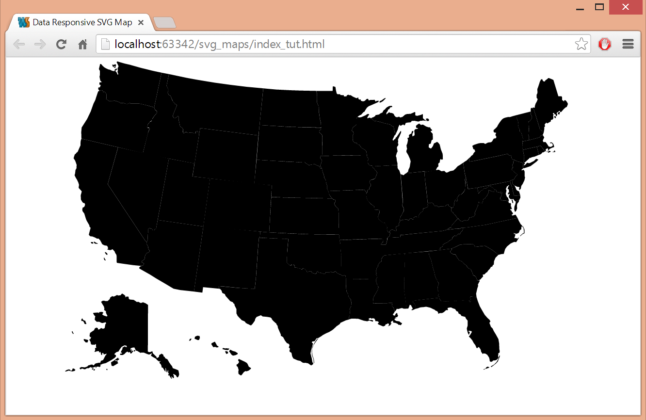 Tutorial Building A Datadriven SVG Map With AngularJS - Html us map