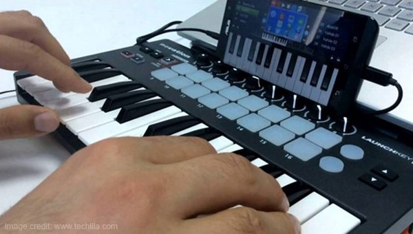midi controller android tablet