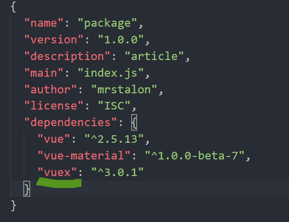 npm install package.json not found