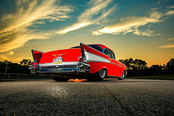 This 1957 Bel Air Has The Look The Sound And 1 500 Hp