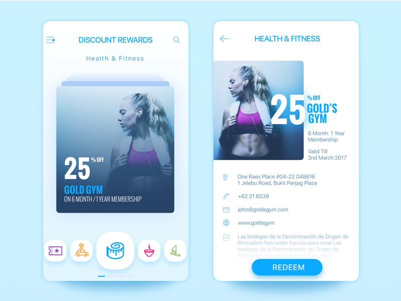 modern trendy app designs from up north