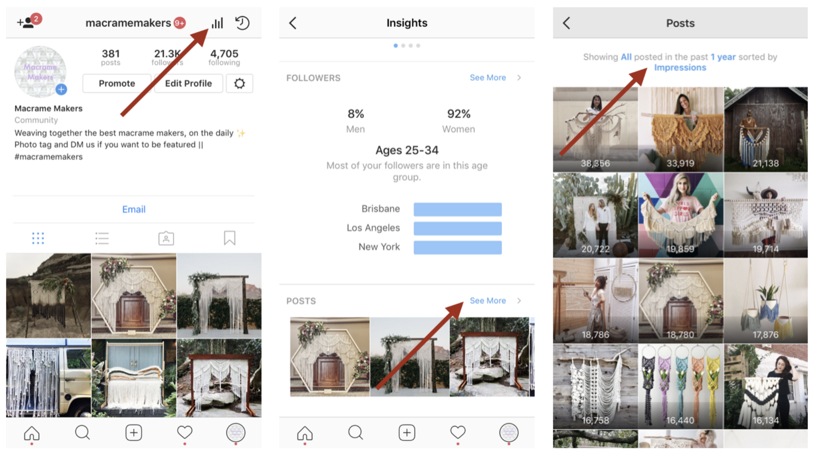how to delete posts on a business instagram account