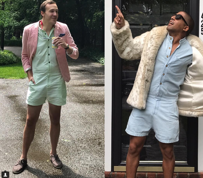 "3f2ba5ea9fa ""We spent countless hours designing the RompHim to be your favorite summer  outfit…This super-garment is designed to take them all on in style"
