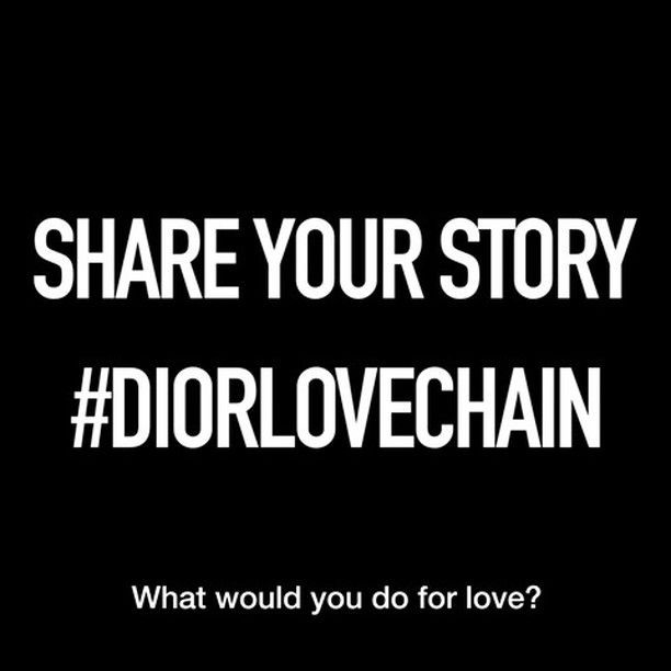 dior what would you do for love ad discovery and creativity