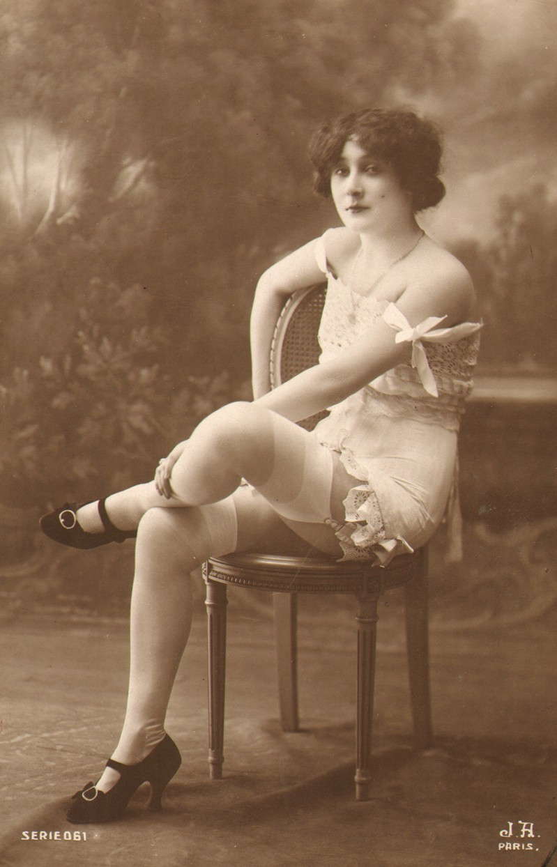 3e47903c4 French photographer Jean Agélou snapped this titillating image in 1910 as  part of a nude series.