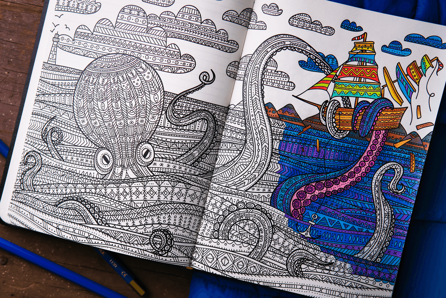 5 Beautiful Coloring Books For Adults – Thomas Homenko – Medium