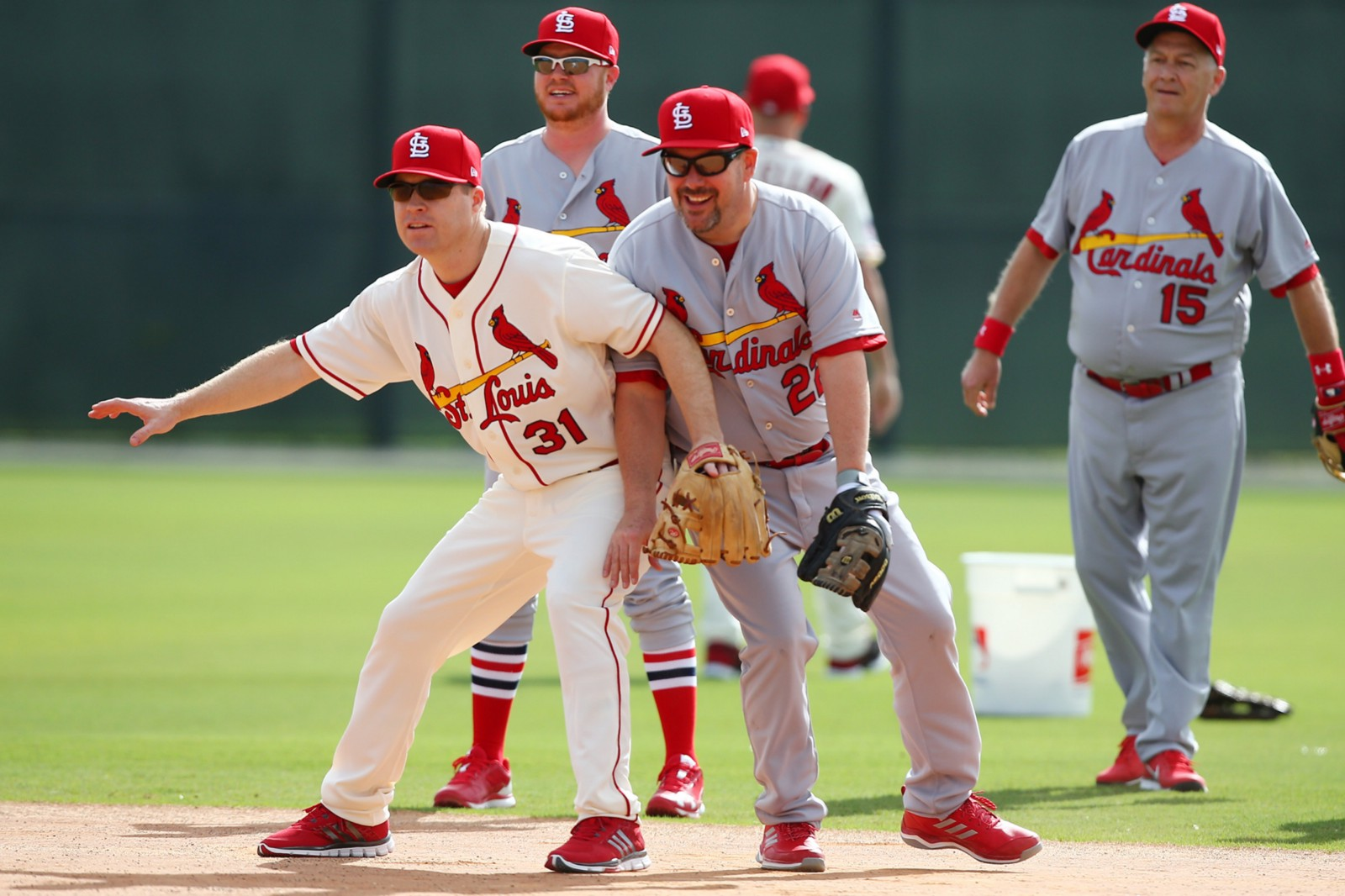 83e8f6a00 Fantasy Camp pairs Cardinals fans with Cardinals alumni for a week of fun  and of course lots of baseball. Cardinals photographer, Billy Hurst, ...