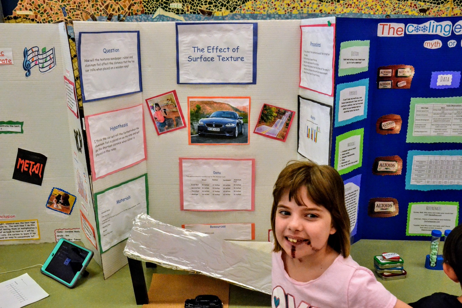Chairville Holds Fifth Grade Science Fair The Medford Sun