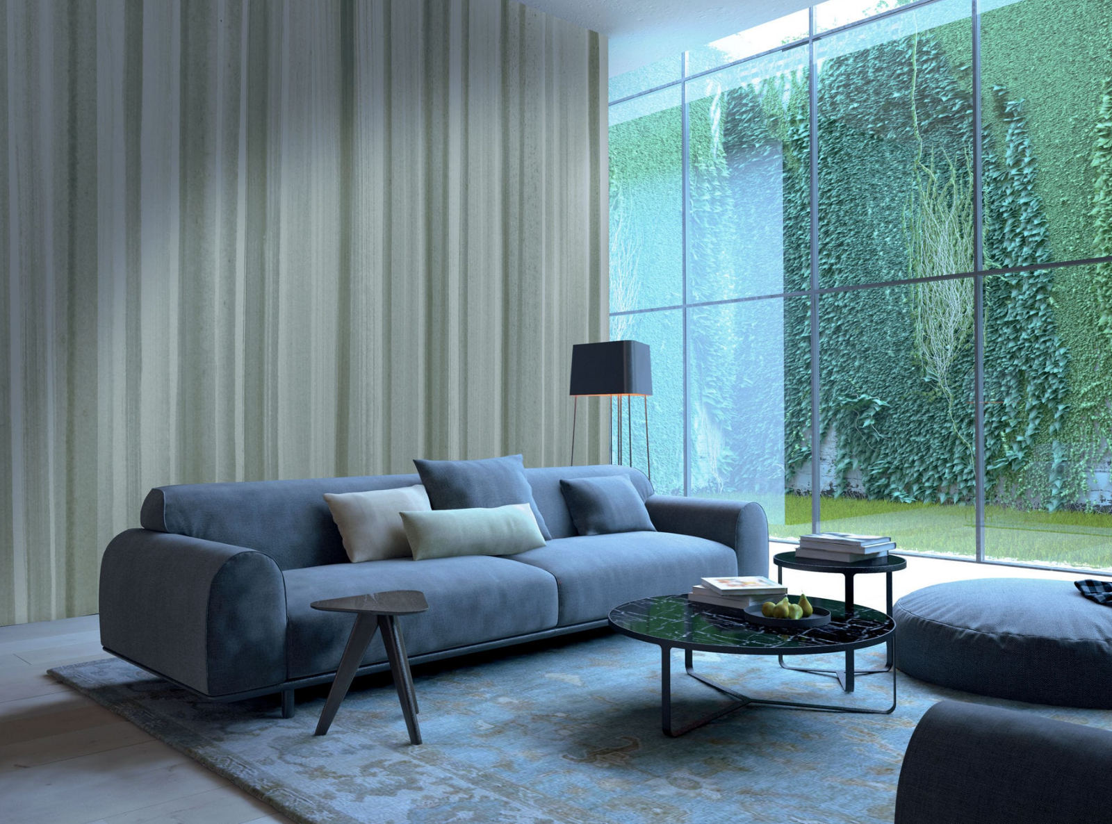 Design of wallpaper for the living room. Desktop wallpapers: photo with examples of finishing