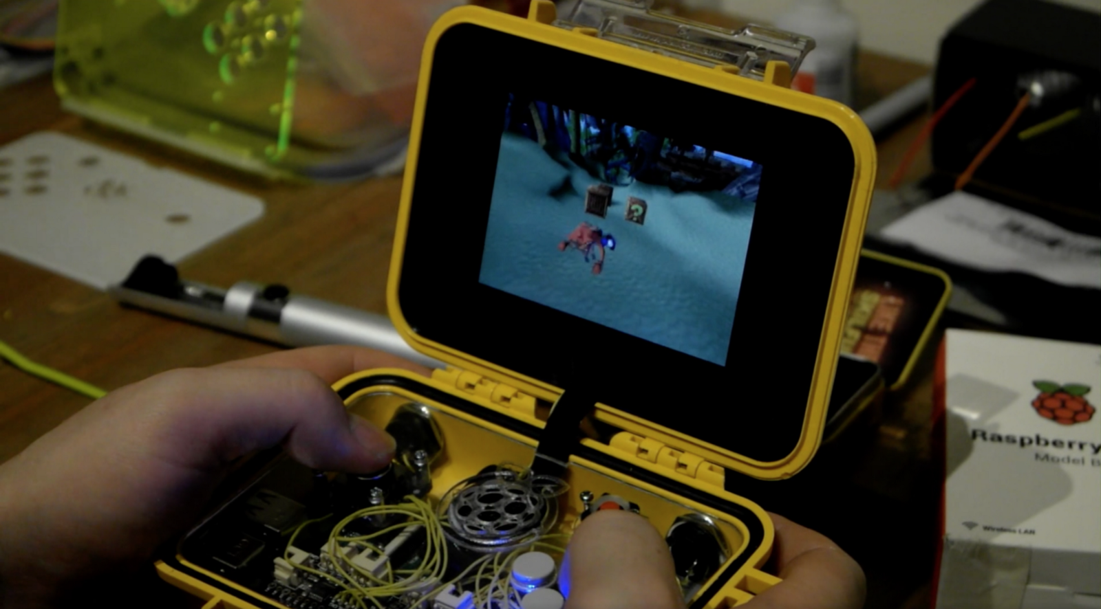 Reddit user burNINJAlapeno seems to think so, because they built a handheld  console into a Pelican case. For those who arenu0027t familiar, ...