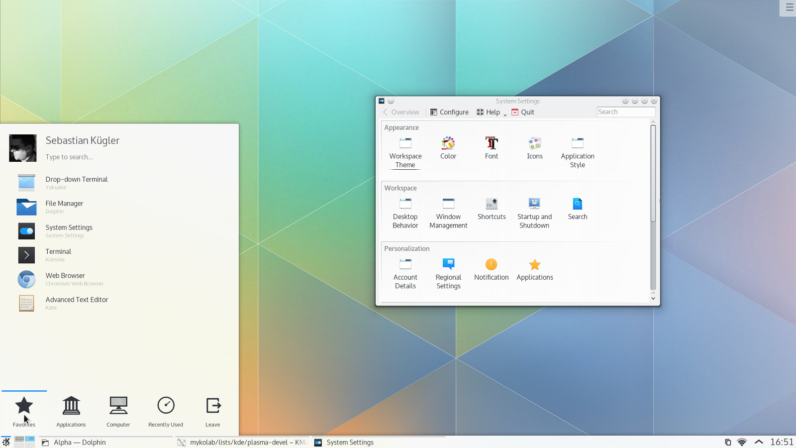 596e9879b0 Por que eu desisti do KDE – clebertech – Medium