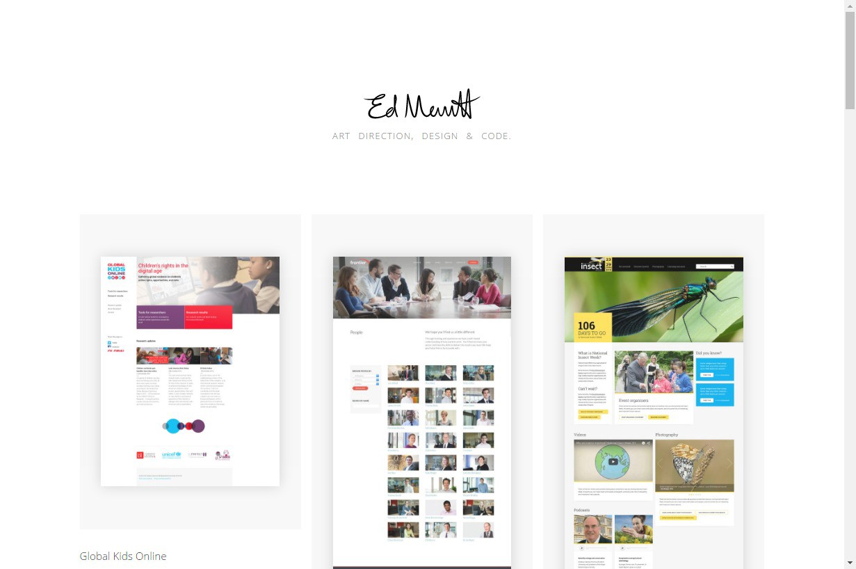 10 Steps To The Perfect Portfolio Website  Plus 40 Examples