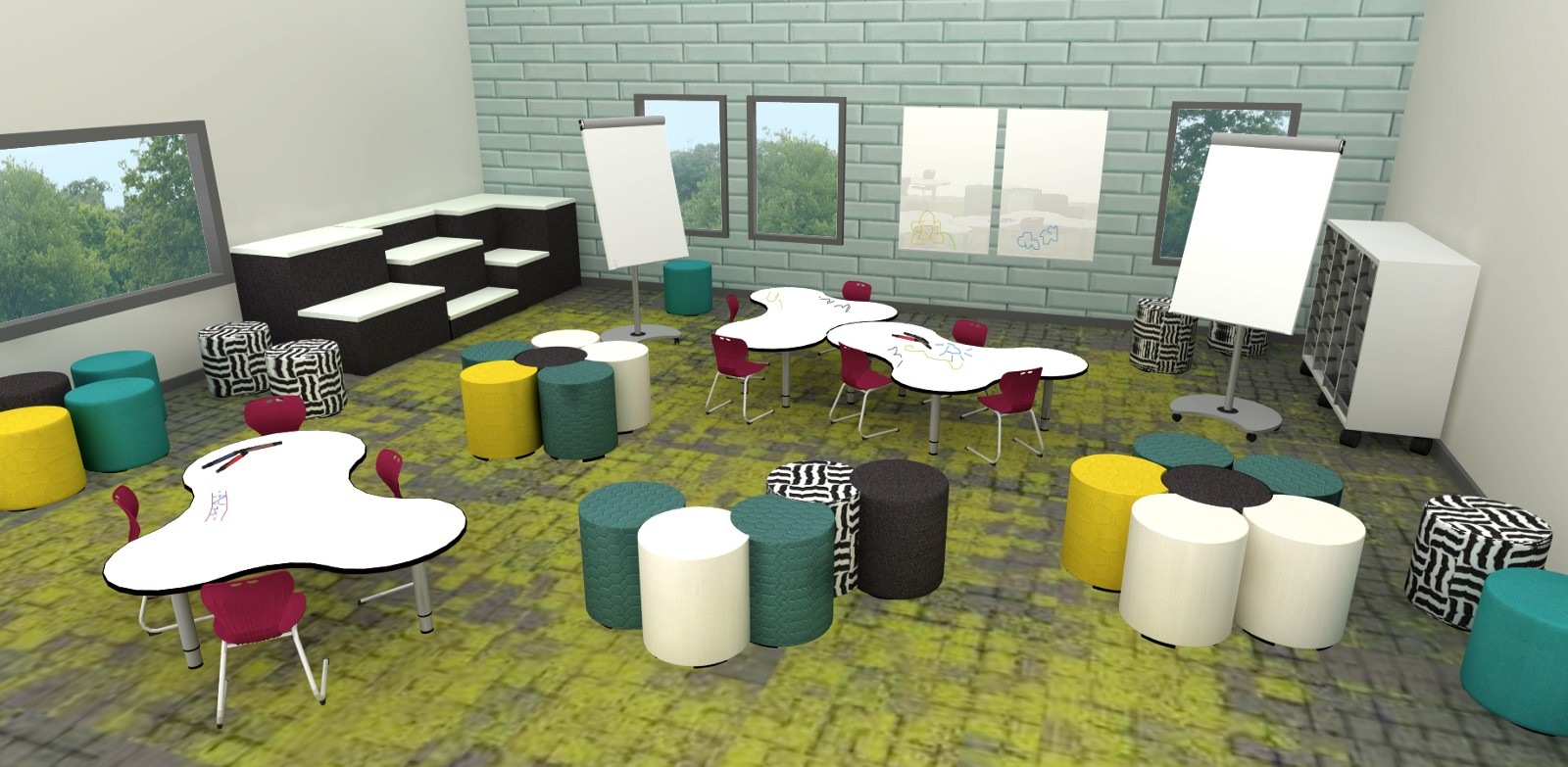 Classroom Furniture Design Standards ~ How furniture and flexible seating is turning classroom
