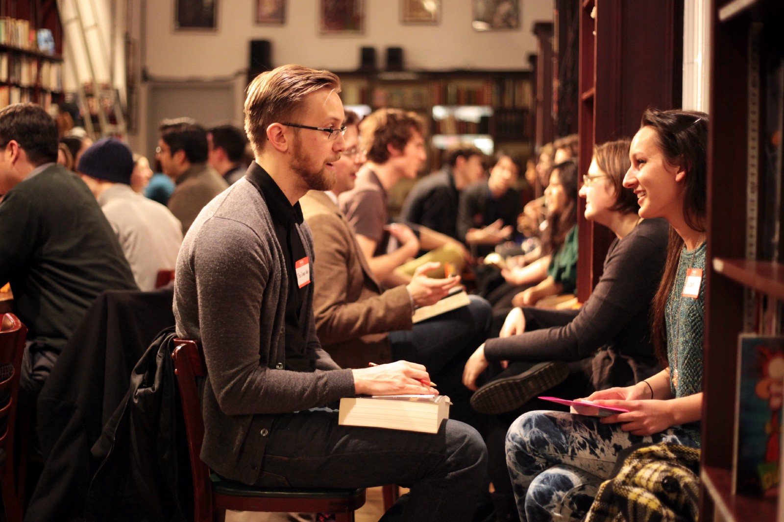 Create a speed dating event