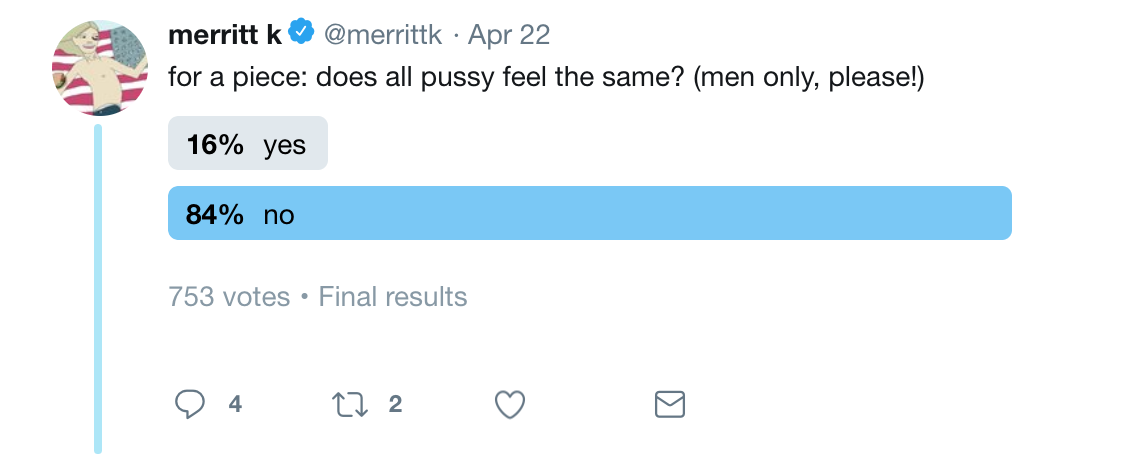 How does pussy feel