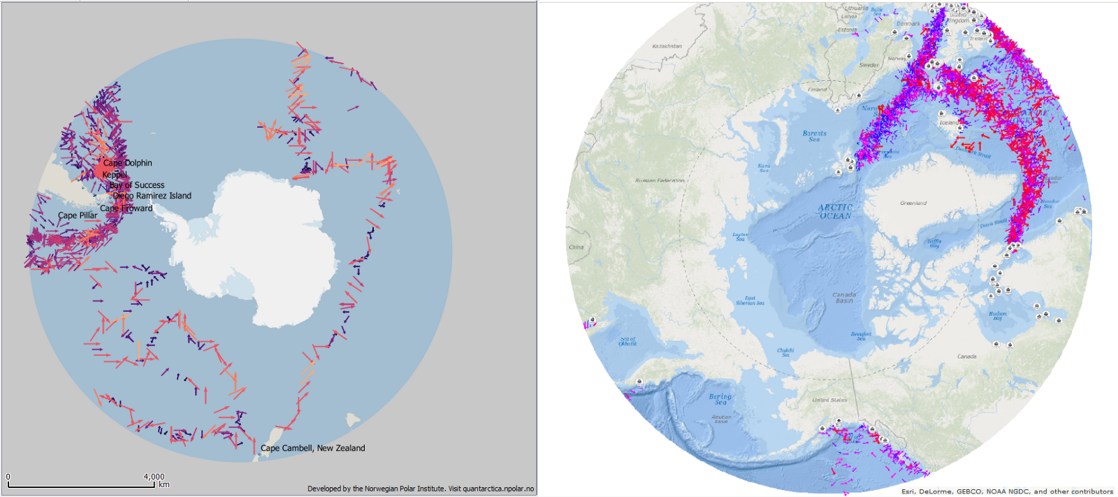 Open data mapping workshop zolnai medium antarctic and arctic wind force direction 17501850 from cliwoc tall ships captains logs gumiabroncs Choice Image
