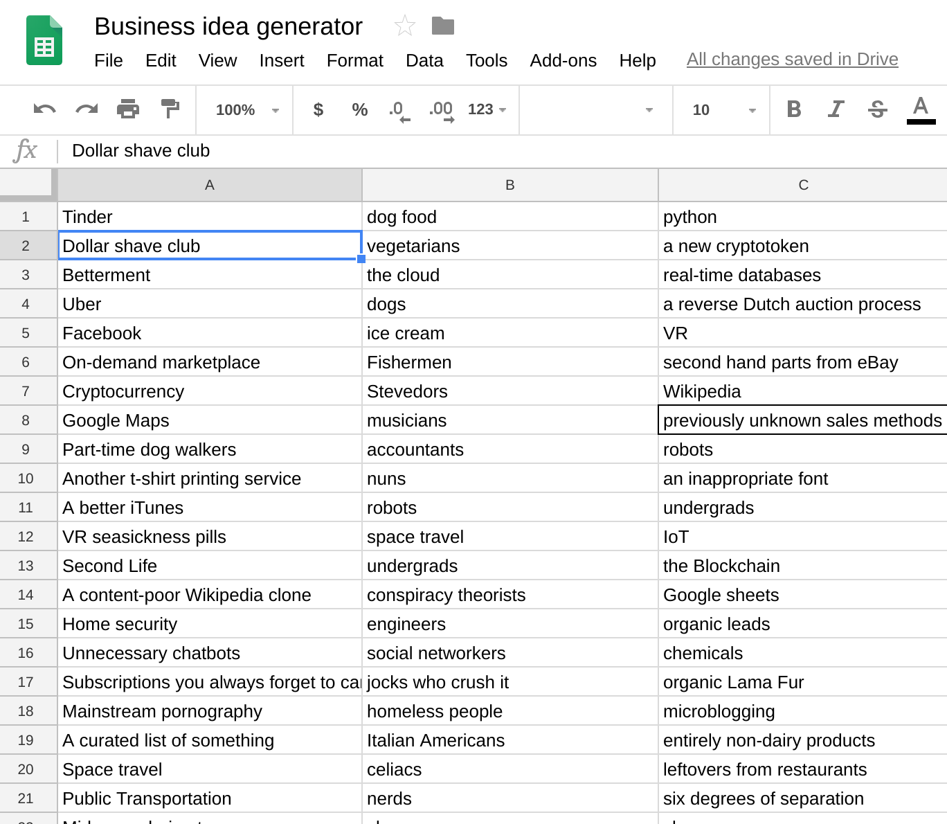 Google Sheets as an API - using Google Sheets as a database for a REST API