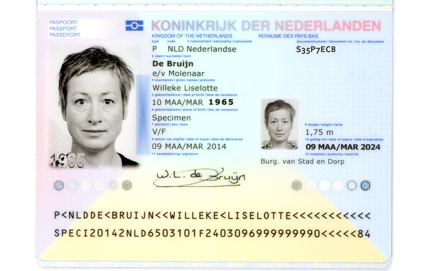 How bad typography almost ruined my holiday ewout van heres an example of a dutch passport ccuart Choice Image