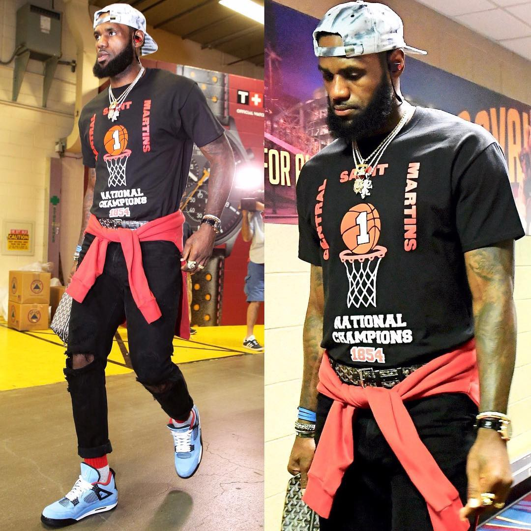 8e212f12ac76 12 Of LeBron s Best Outfits This Season – looklive.com