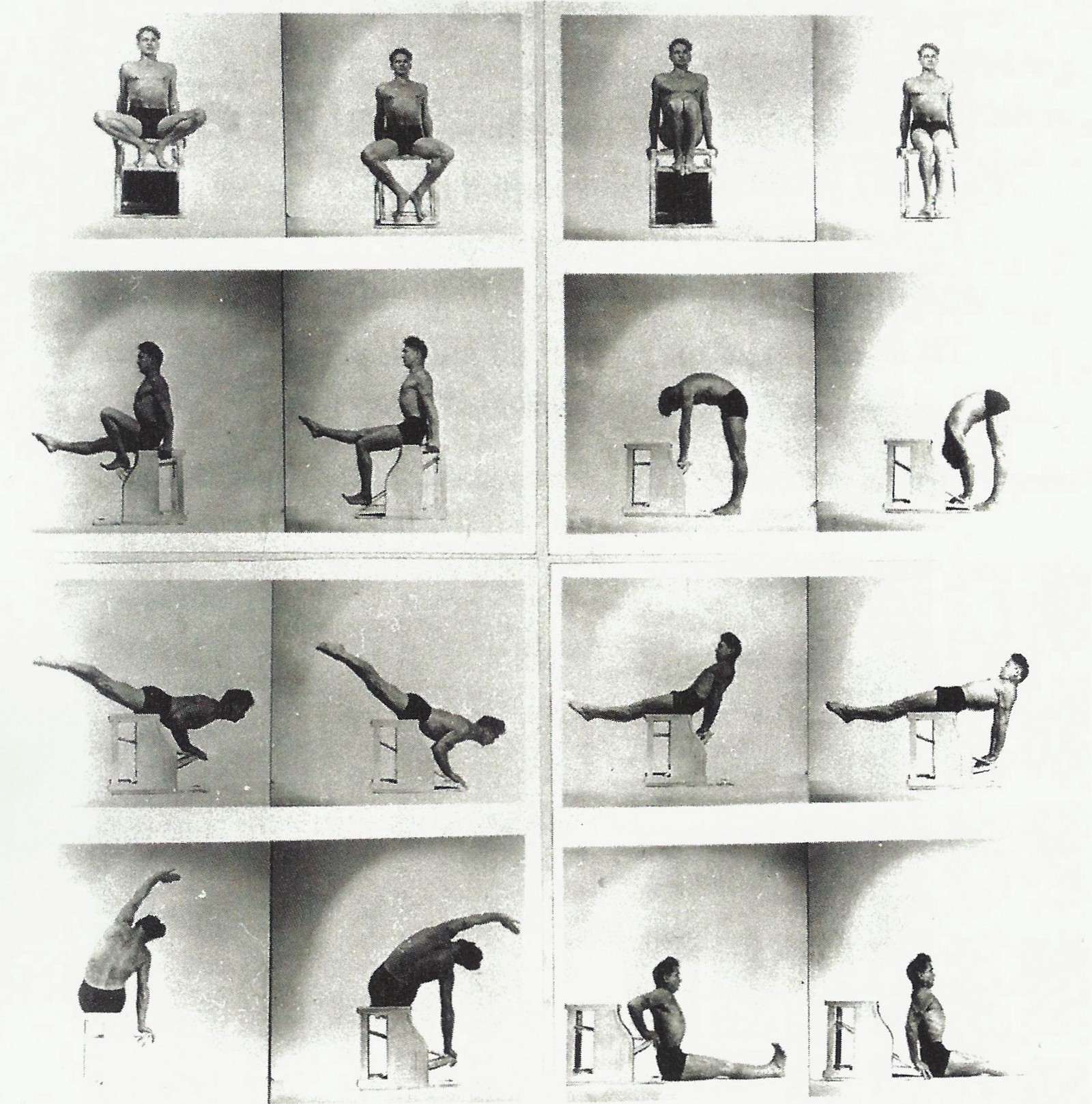 Pilates Mat Exercise Poster: Pilates Is Not Another Name For Yoga