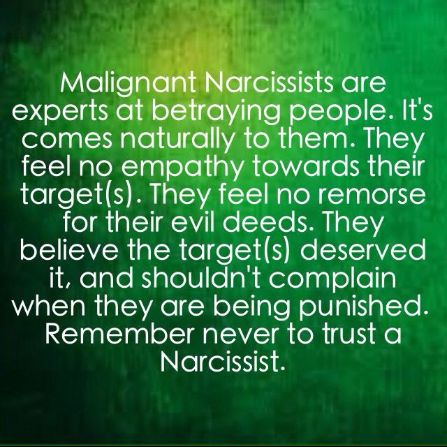 why don t narcissists have empathy