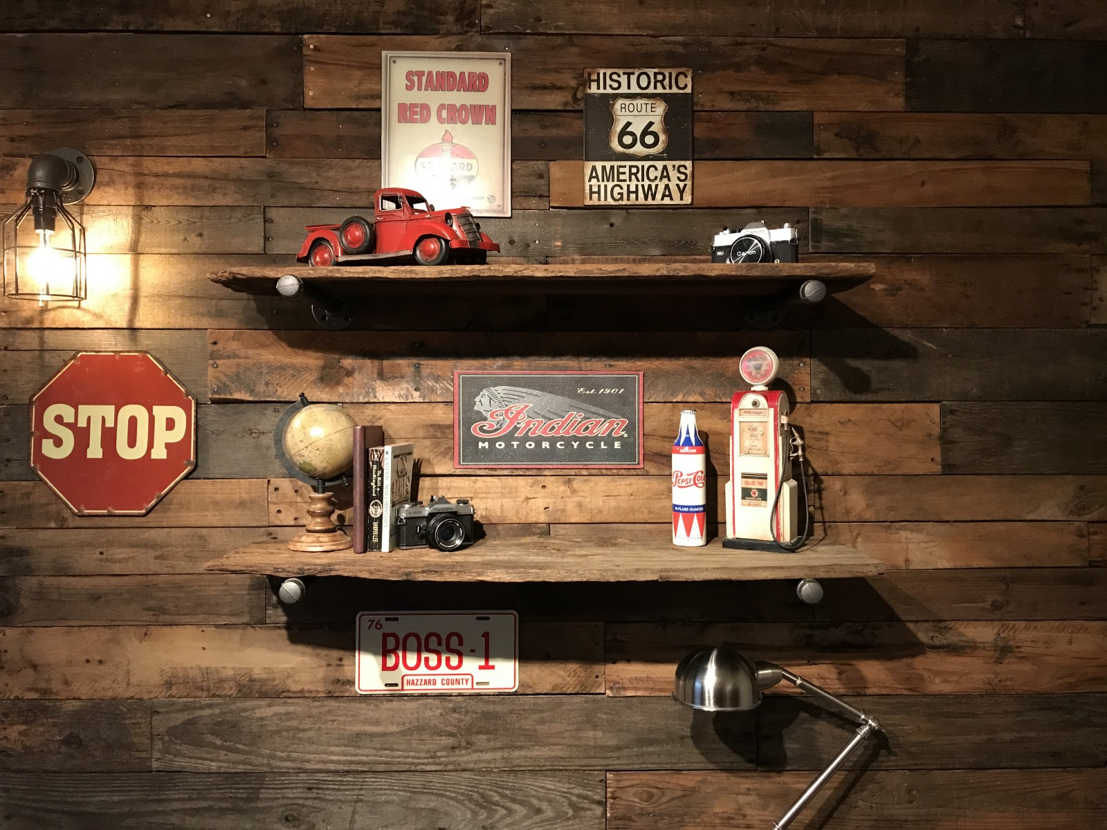 How To Install A Beautiful Accent Pallet Wall Plus Accessories
