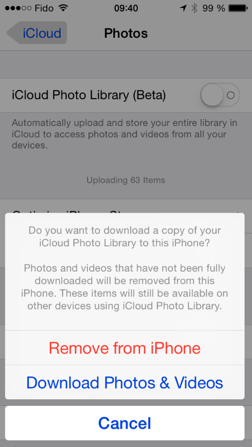 broken icloud photo library upload process my story and solution
