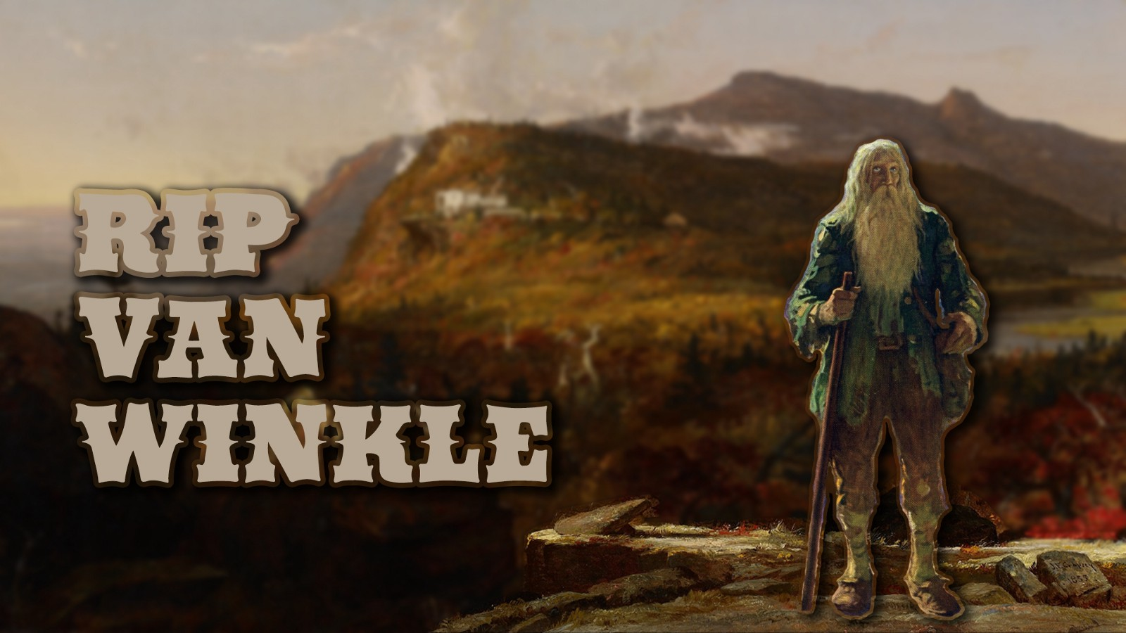 why did rip van winkle sleep for 20 years