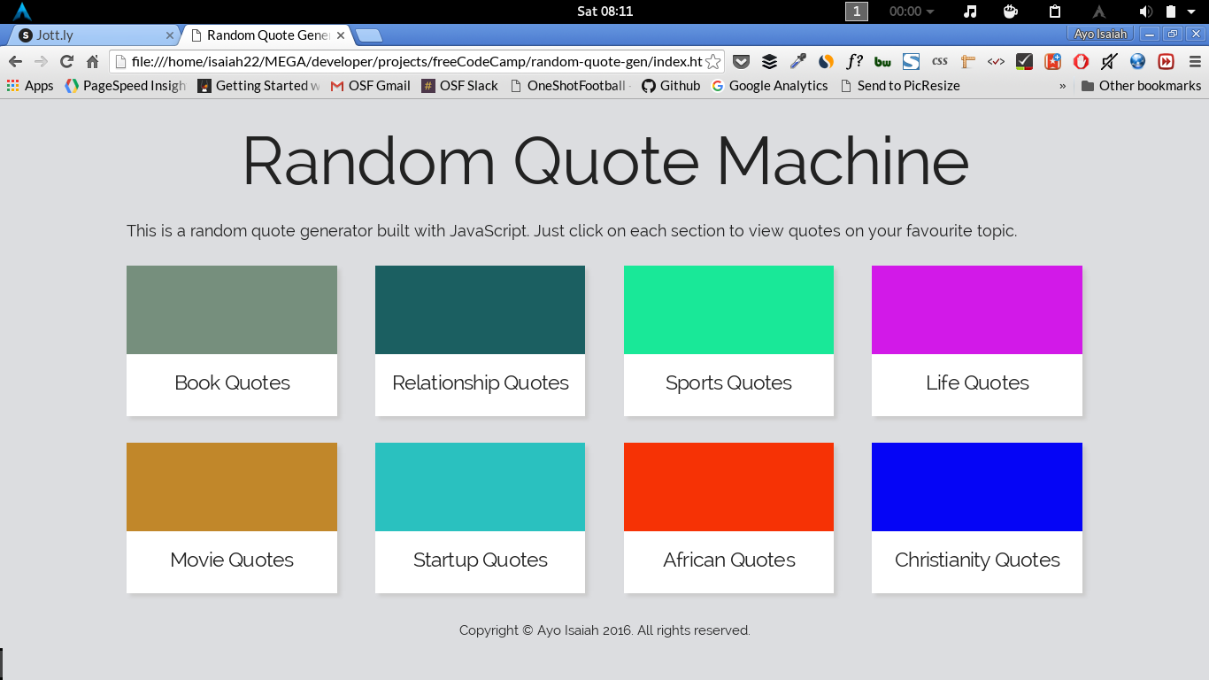 How To Quote A Website Building A Random Quote Machine  Freecodecamp