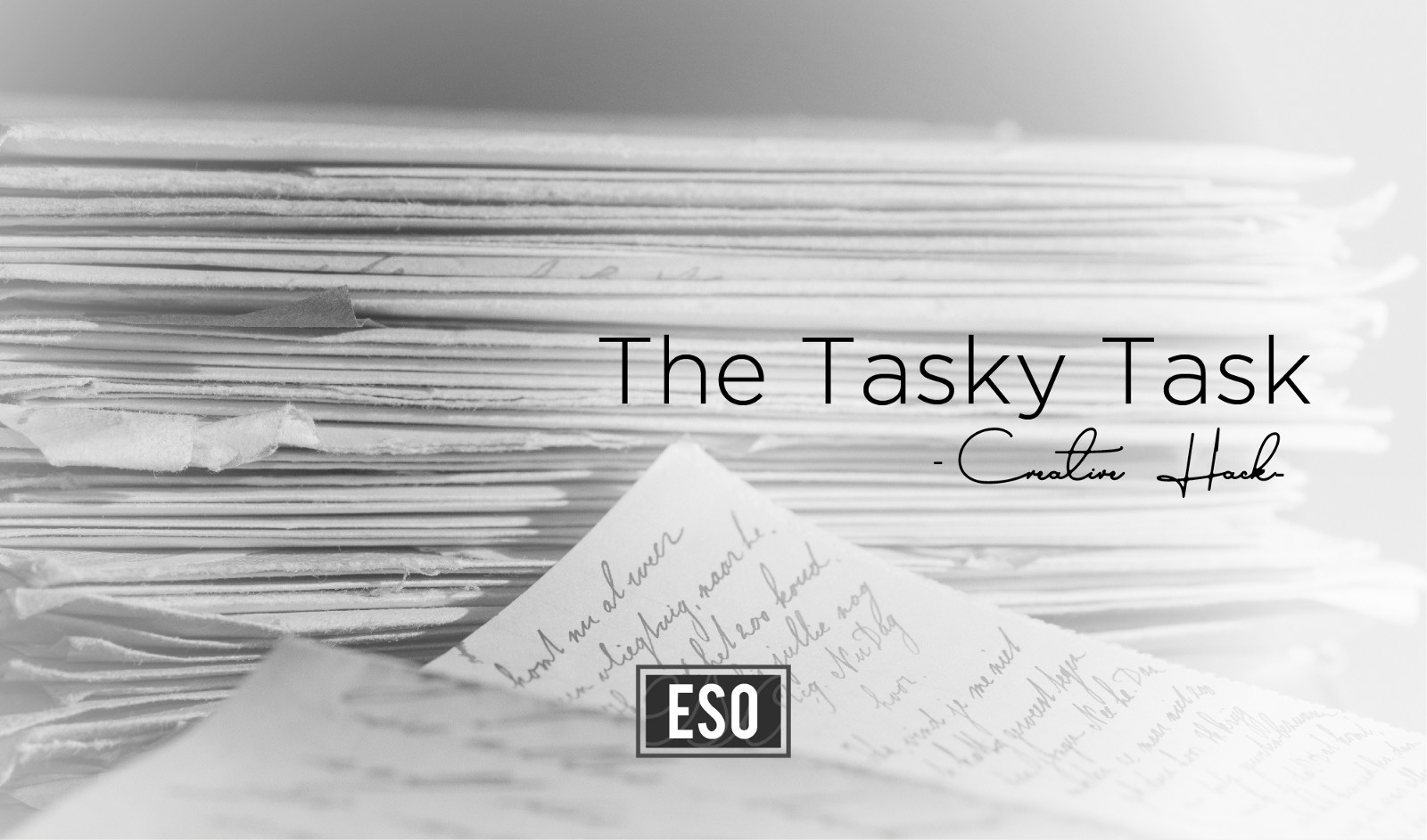 The Tasky Task — Creative Hack – Smart Emovon – Medium