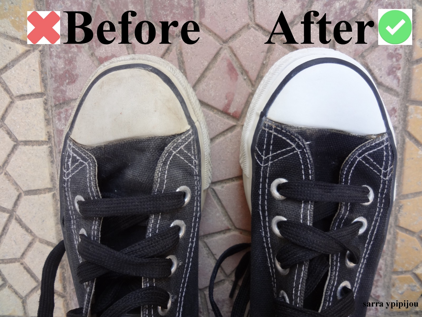 c104e58ac02d How To Clean Converse Sneakers When They Turn Yellow