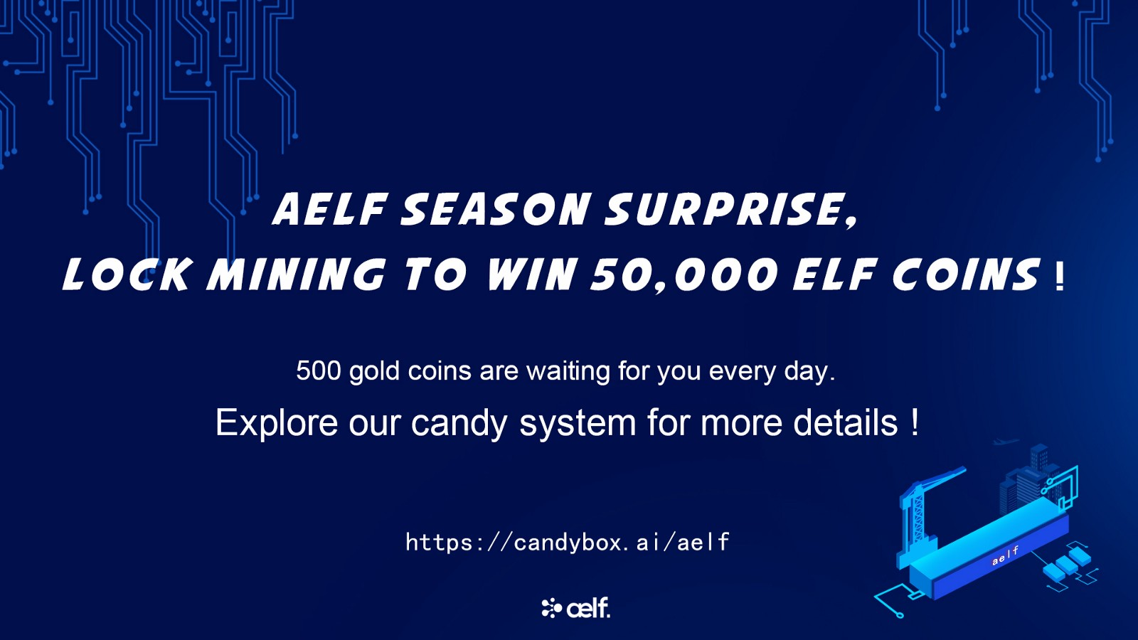 Aelf The New Lock Mining Event Instructions On How To Play The Game