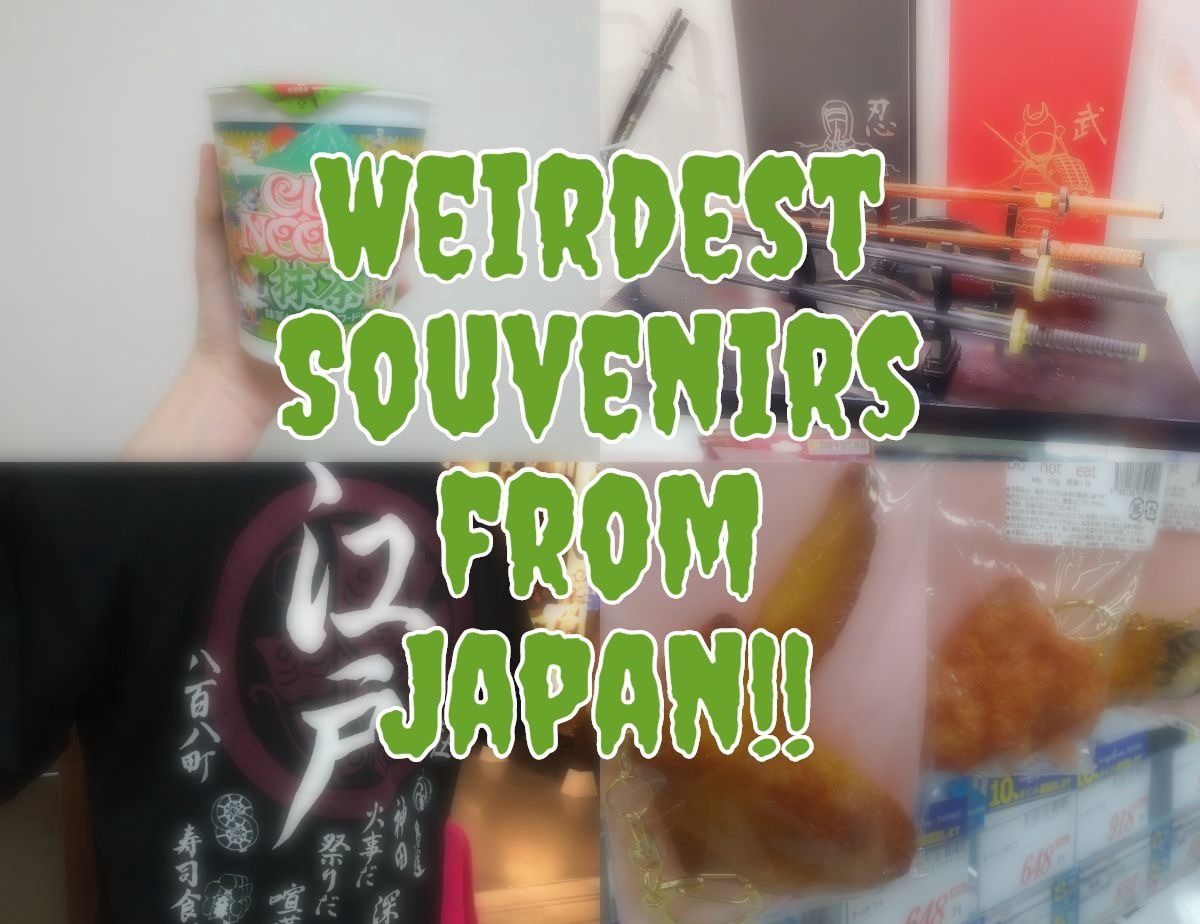 8 weirdest souvenirs from japan jw web magazine come be the hero of sparkling gifts from your trip to japan make everyone woo with the only in japan annoying joke souvenirs solutioingenieria Choice Image
