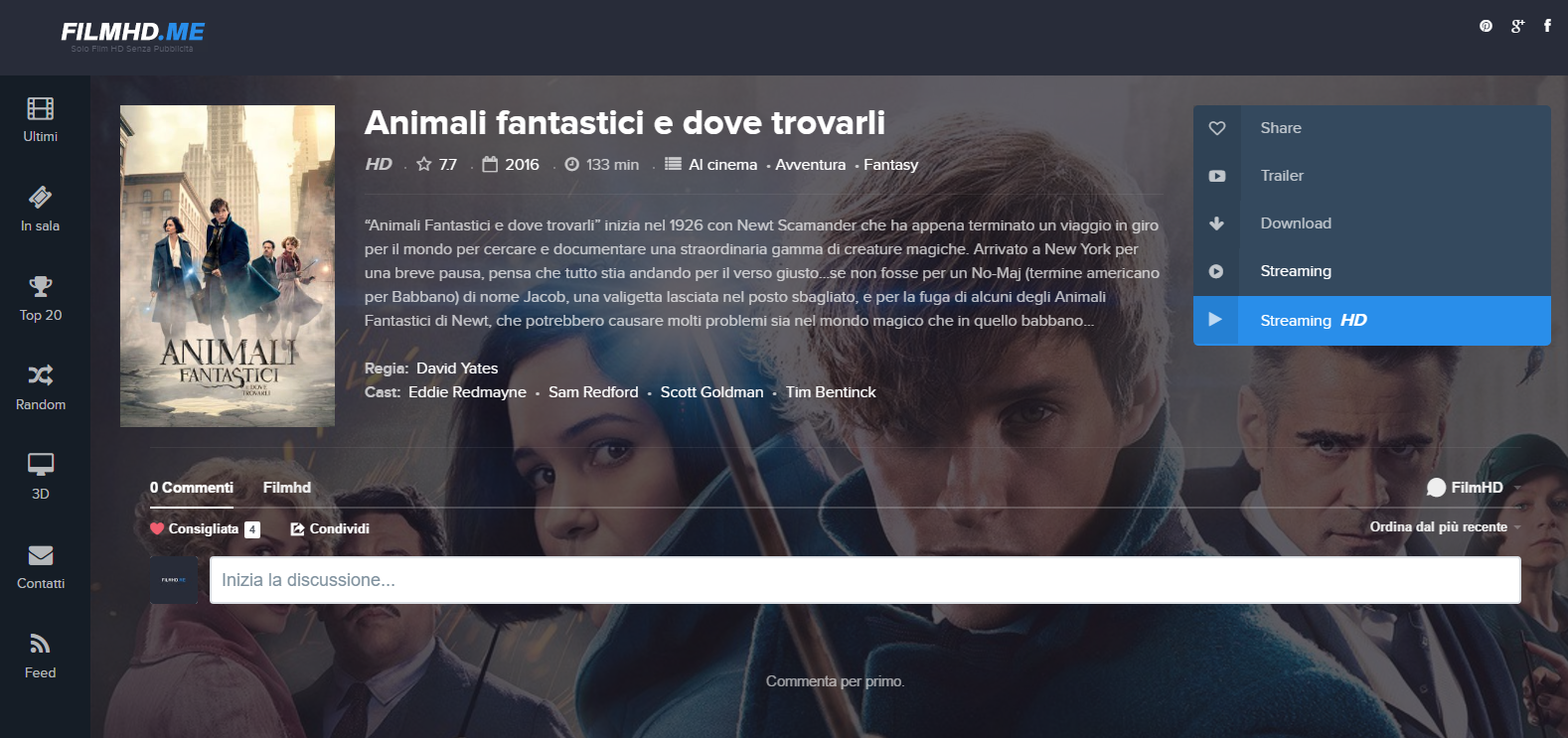 How to watch film streaming in hd altadefinizione for free - Tavolo 19 streaming altadefinizione ...