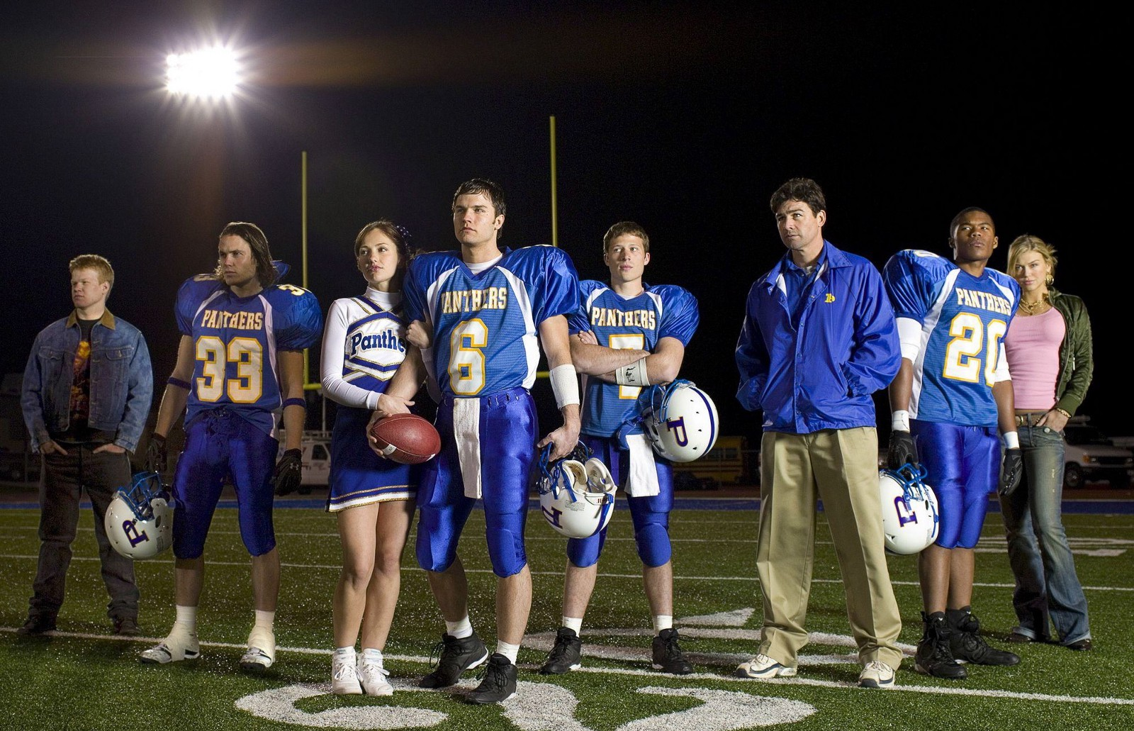paying homage to the 5 year run of friday night lights