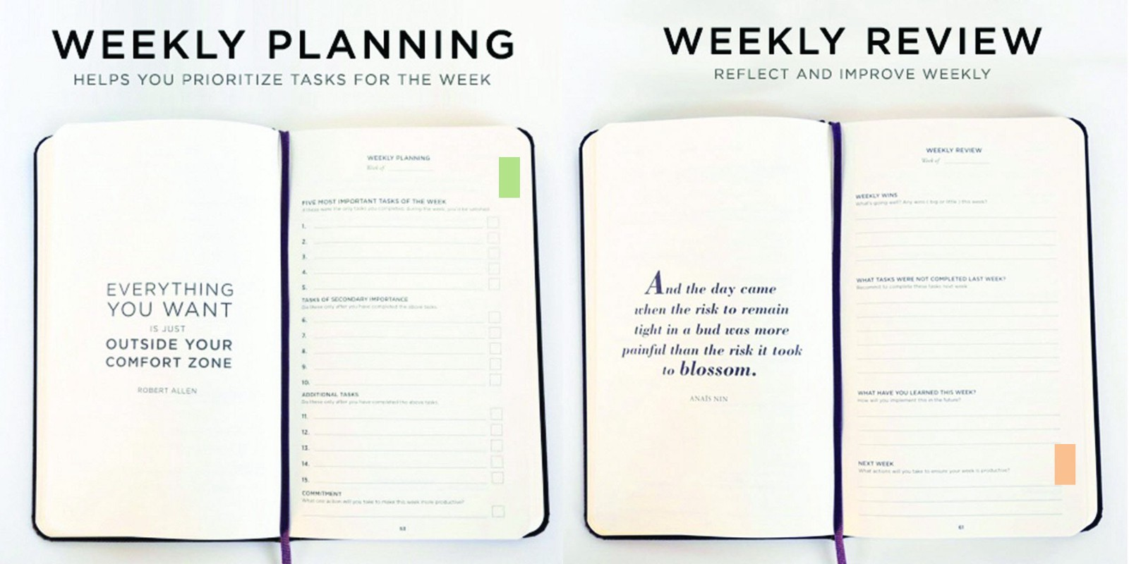 Hacking The Productivity Planner To Unlock Your Maximum Potential - Productivity planner review