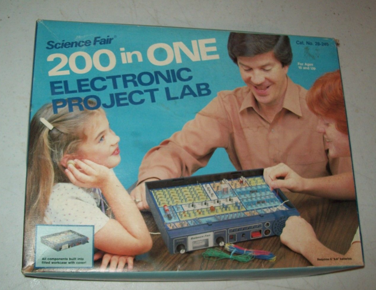 Electronic Project Kits Hands On With A Vintage 160 In 1 Projects Lab 200 Transistor Circuits There Were Other As Well Science Fair 28249 Ebay From 1981 An Expanded Version Of The