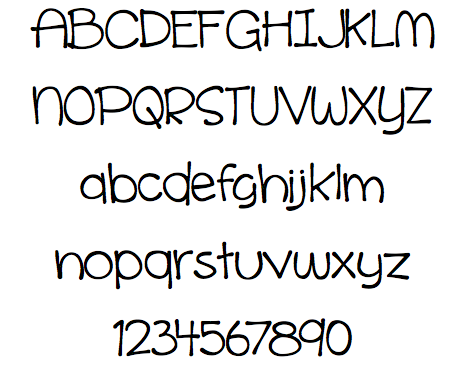 Cinnamon Cake Is A Very Fun Handwritten Font That Clean And Easy To Read Thats Hard Come By In Fonts