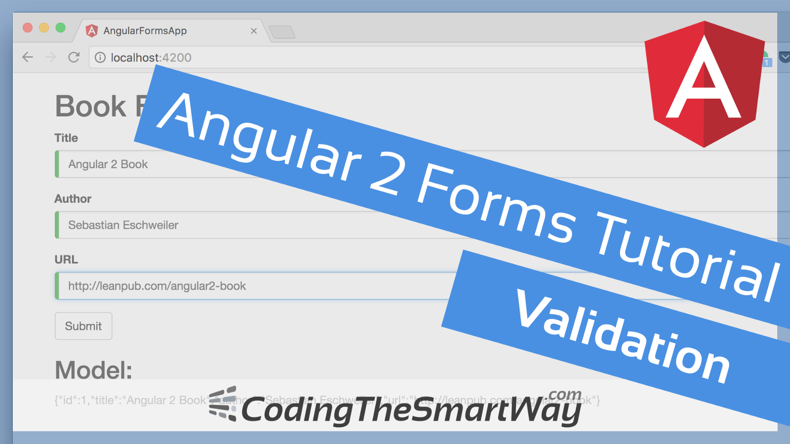 Angular 2 forms tutorial validation – codingthesmartway. Com blog.