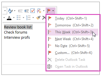 how to mark as read onenote 20165
