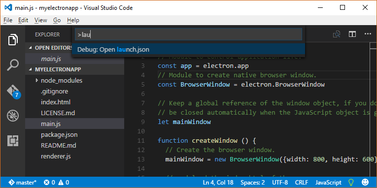Visual Studio Reactjs Typescript: Getting Started With Electron And Visual Studio Code