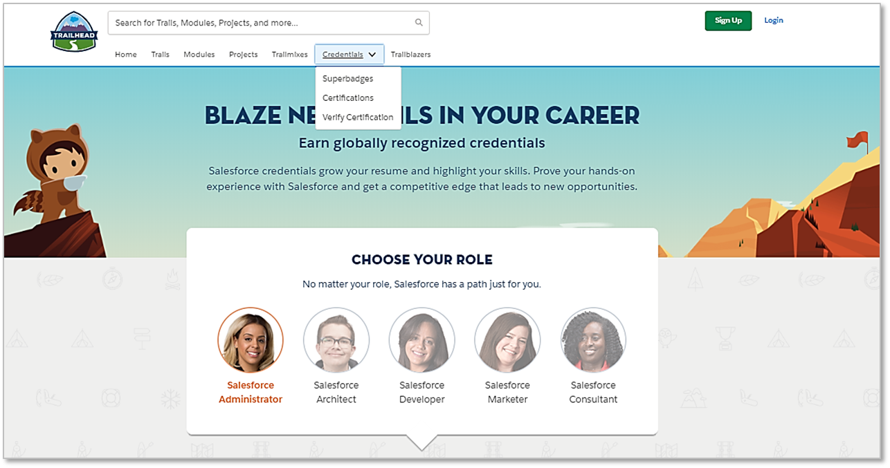 Trailhead Credentials Your New Destination For Superbadges And
